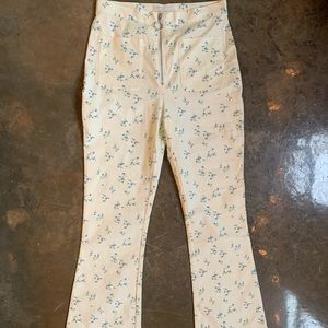 Floral Urban Outfitters pants